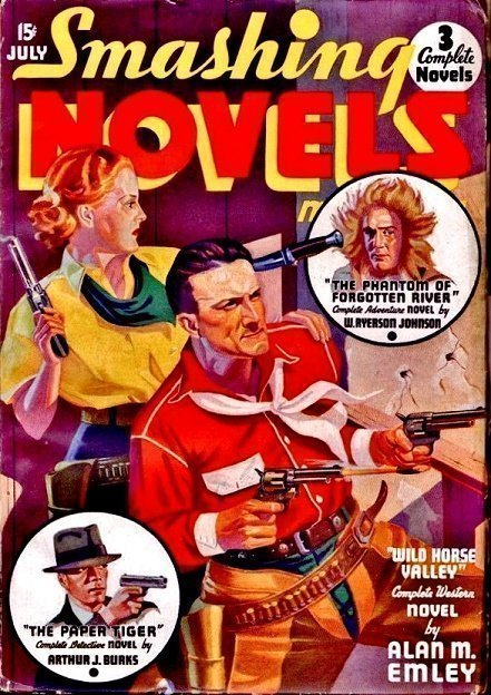 SMASHING NOVELS MAGAZINE - July 1936