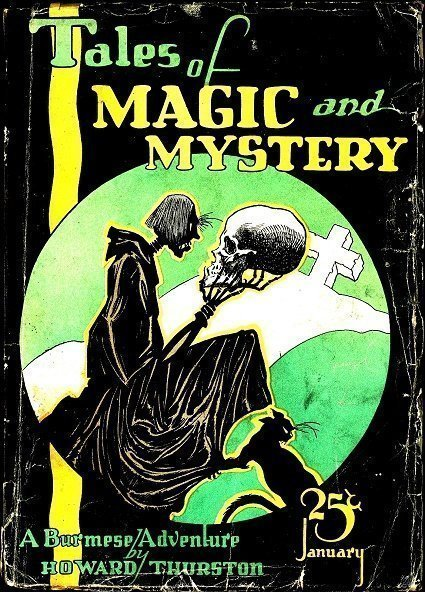 TALES OF MAGIC and MYSTERY - Jan. 1928