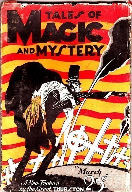 TALES OF MAGIC and MYSTERY - March 1928
