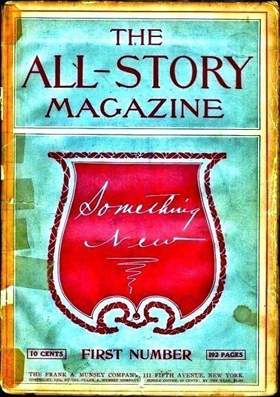ALL-STORY MAGAZINE - Jan. 1905 (First Issue)