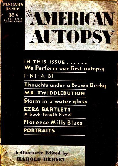 AMERICAN AUTOPSY - Jan. 1932
