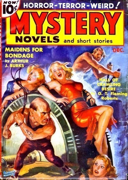 MYSTERY NOVELS and SHORT STORIES - Dec. 1939
