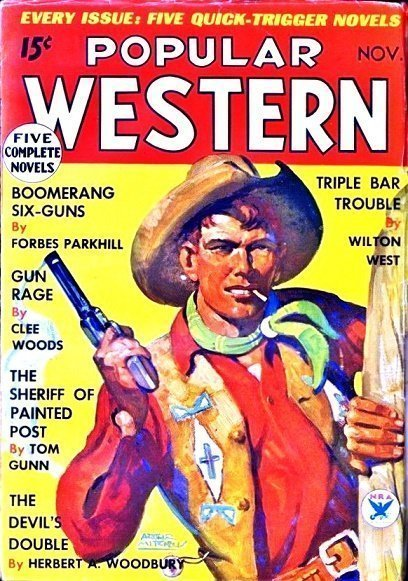 POPULAR WESTERN - Nov. 1934 (First Issue)