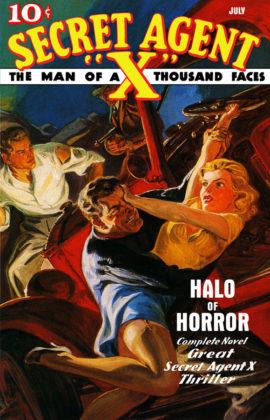 "Secret Agent ""X"": Halo of Horror"