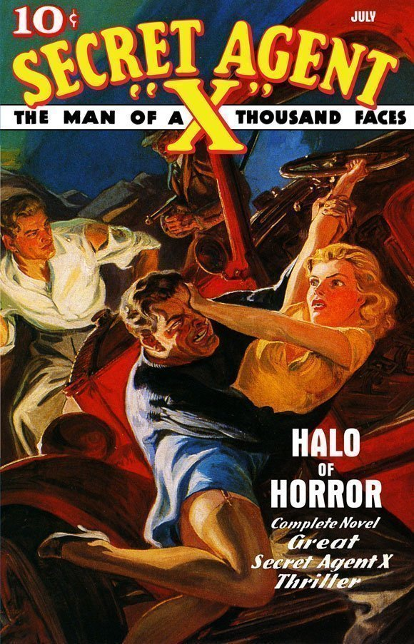 "Secret Agent ""X"": Halo of Horror"