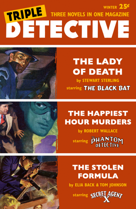Triple Detective #1 (Winter 1956)