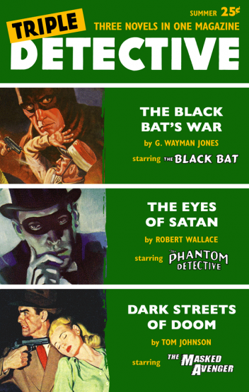 Triple Detective #3 (Summer 1956)