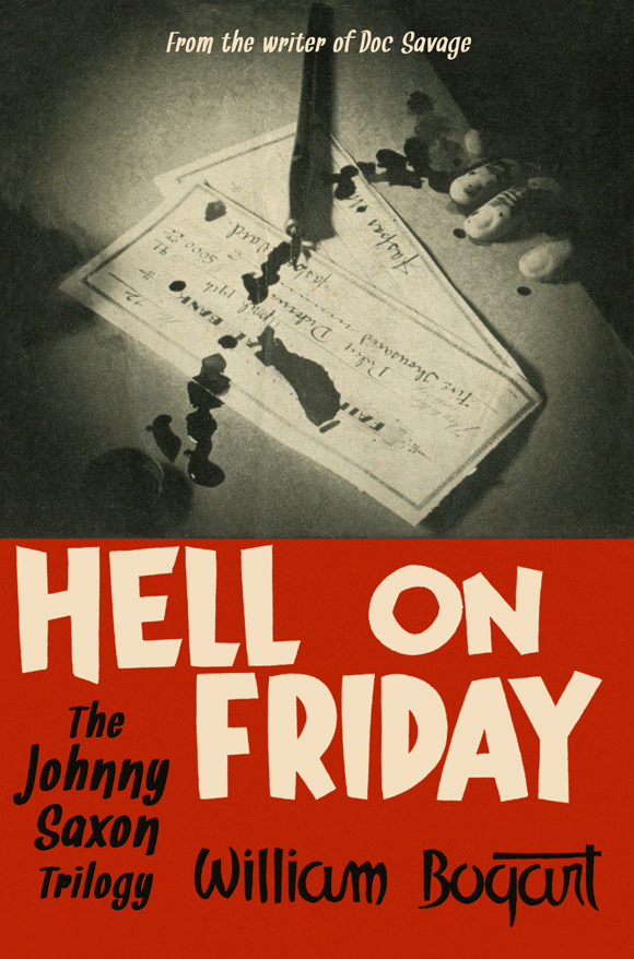 Hell on Friday: the Johnny Saxon Trilogy