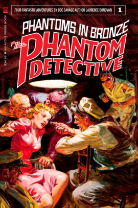 The Phantom Detective: Phantoms in Bronze