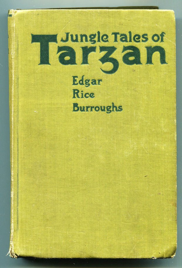 The Jungle Tales of Tarzan (First Edition, McClurg, 1919)