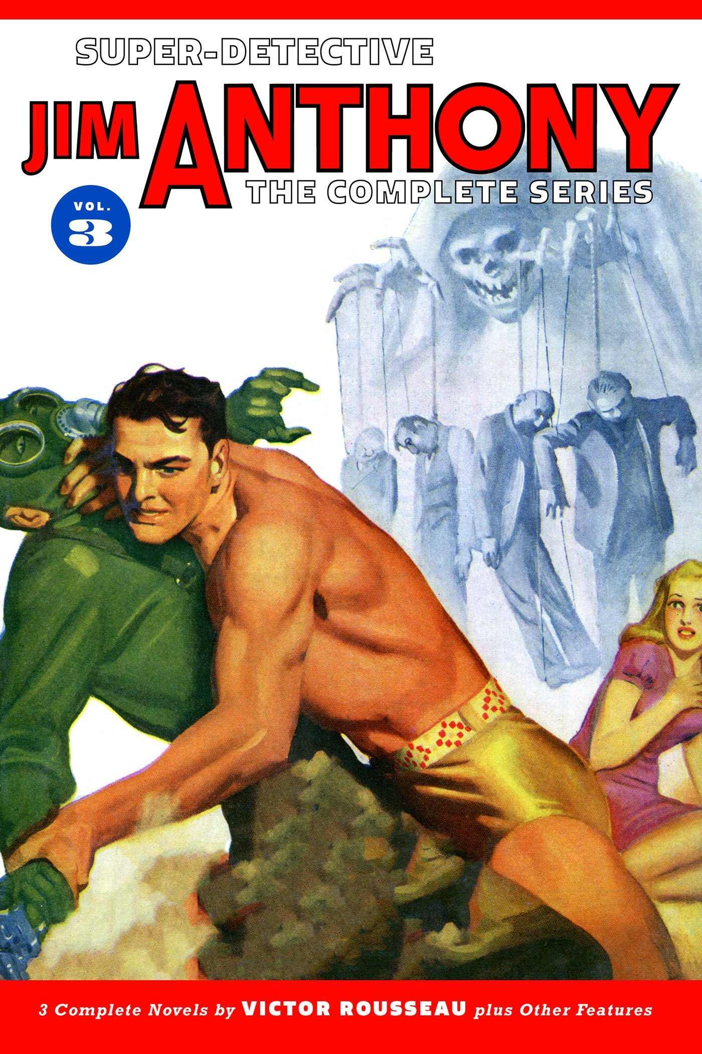 Super-Detective Jim Anthony: The Complete Series Volume 3