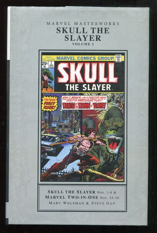 Skull the Slayer Marvel Masterworks Hardcover
