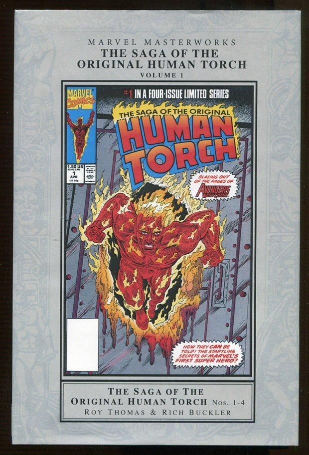 The Saga of the Original Human Torch – Marvel Masterworks Hardcover Edition