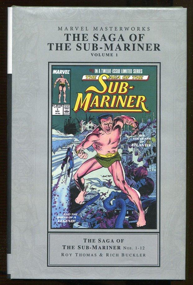 The Saga of the Sub-Mariner – Marvel Masterworks Hardcover Edition