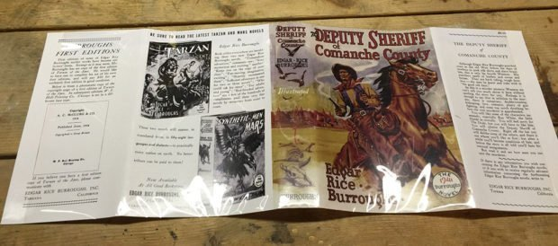 The Deputy Sheriff of Comanche County - Facsimile 1st Edition Dustjacket