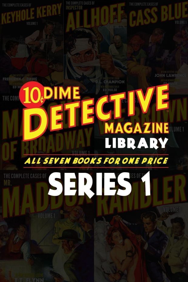 The Dime Detective Library: Series 1 (Seven Book Set)