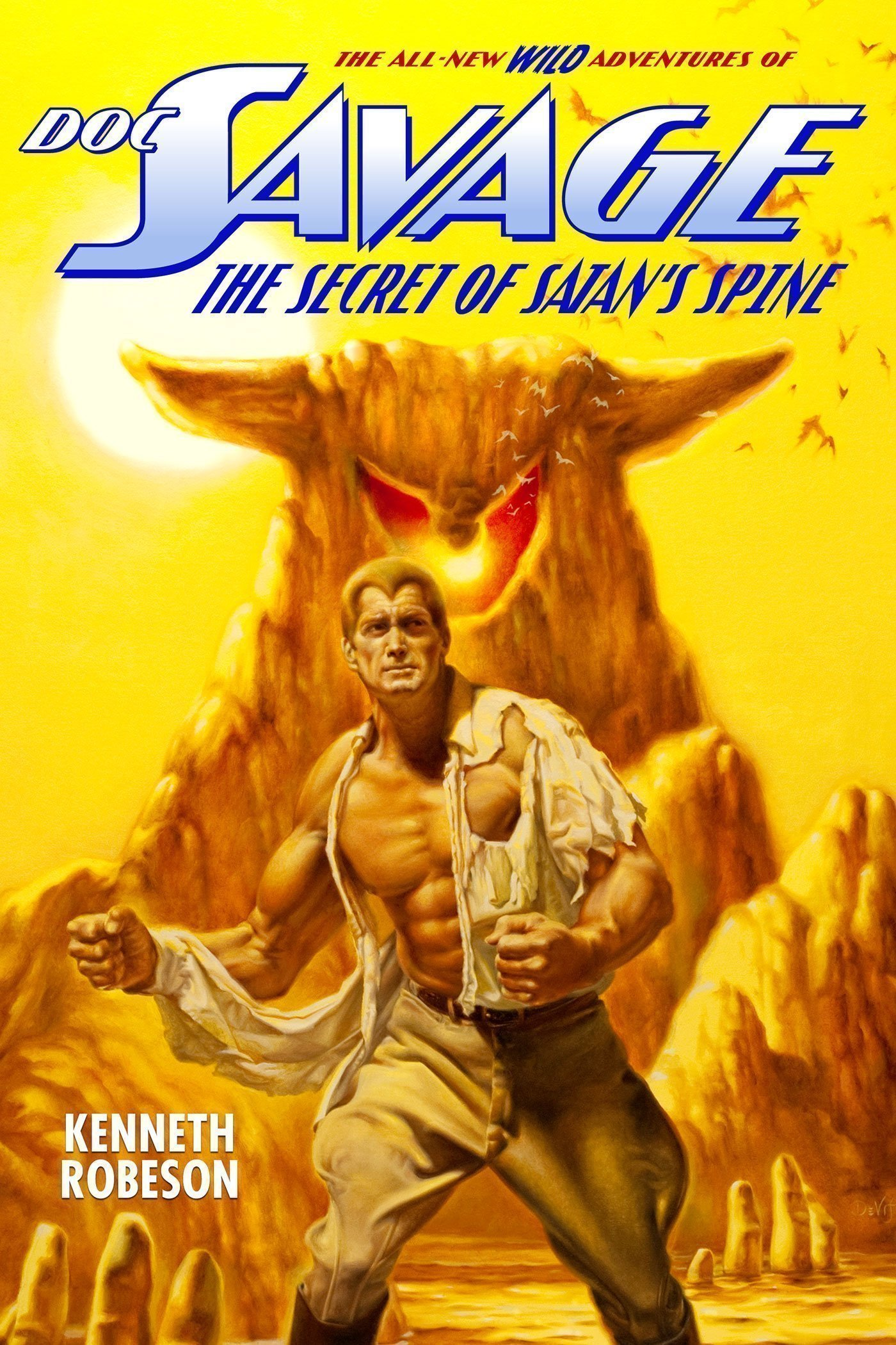 Doc Savage: The Secret of Satan's Spine