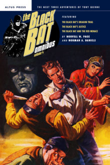 The Black Bat Omnibus Volume 4 by Norvell W. Page and Norman A. Daniels