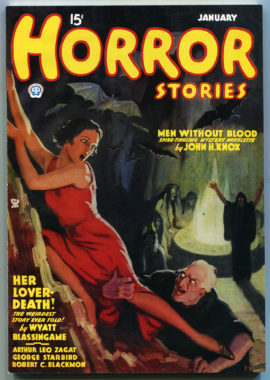 Horror Stories Number 1, January 1935 (Girasol Replica)