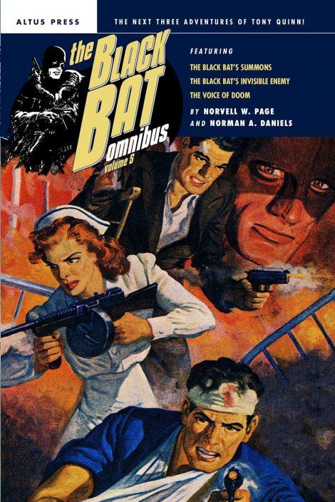 The Black Bat Omnibus, Volume 5
