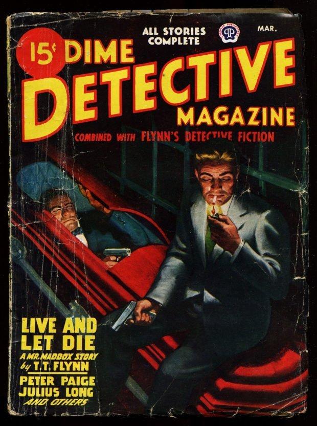 Dime Detective Magazine (March 1947)