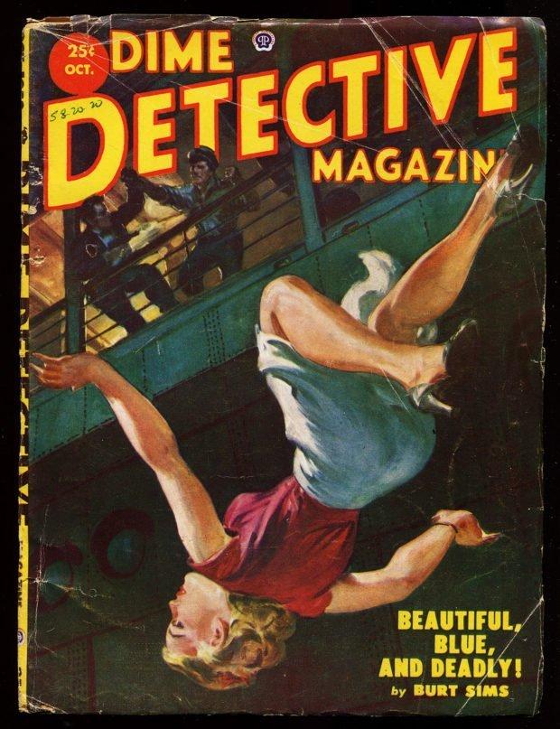 Dime Detective Magazine (October 1952)