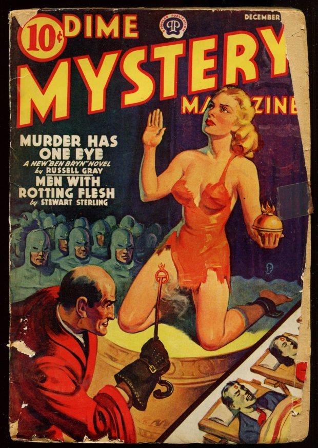 Dime Mystery Magazine (December 1939) - Publisher's File Copy