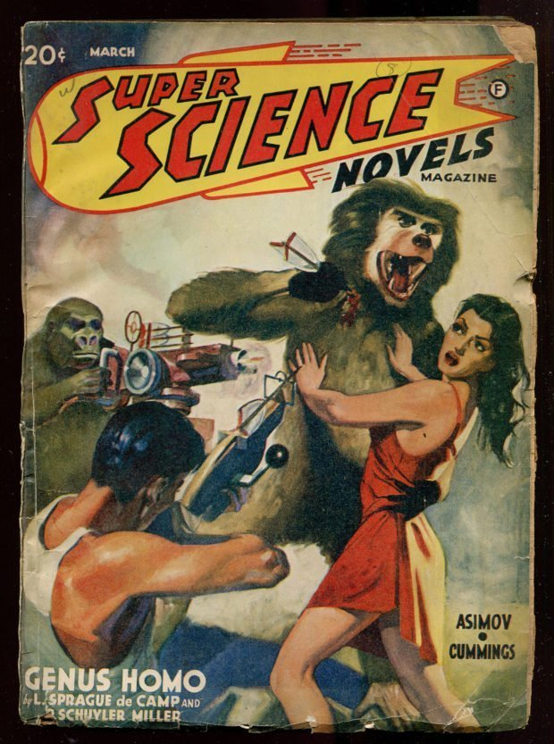 Super Science Novels (March 1941)