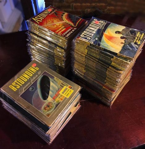 Complete Set of Astounding Stories from John W. Campbell's Pulp Era
