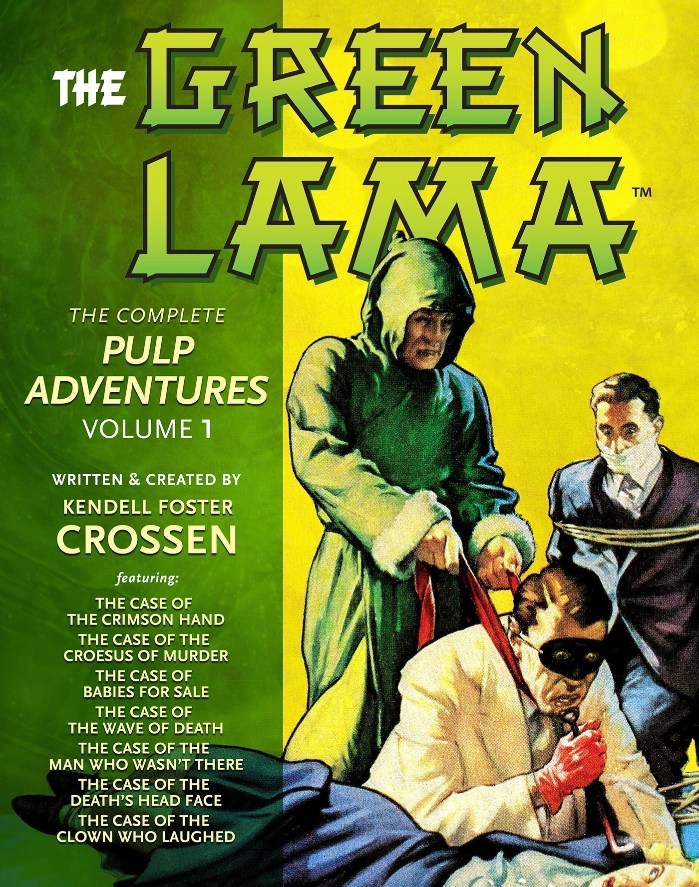 The Green Lama: The Complete Pulp Adventures (2 Volume Deluxe Edition)