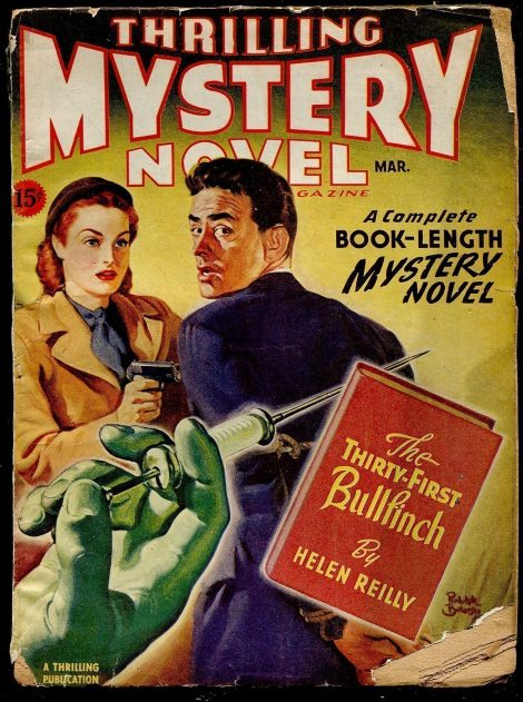 Thrilling Mystery Novel Magazine (March 1946)