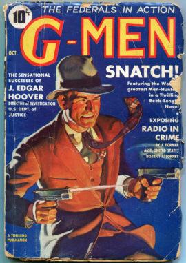G-Men Detective (October 1935)
