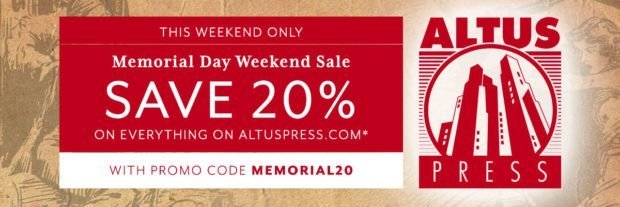 Altus Press Memorial Day Sale