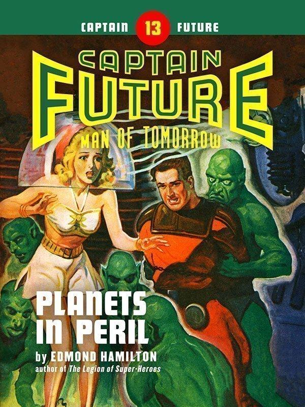 Captain Future #13: Planets in Peril (eBook)