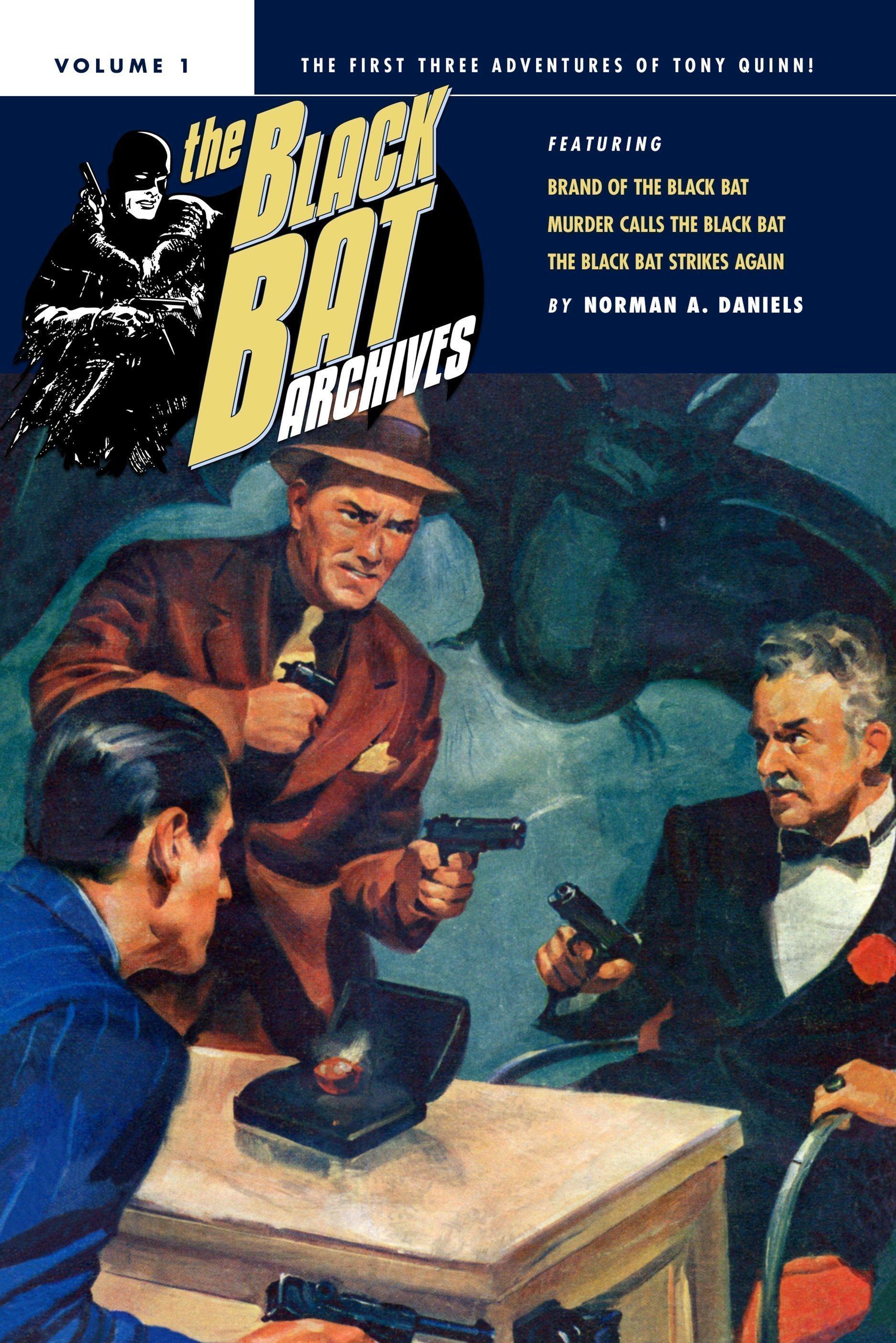 The Black Bat Archives, Volume 1