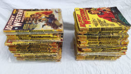Large Lot of 10 Story Western Pulp Magazines