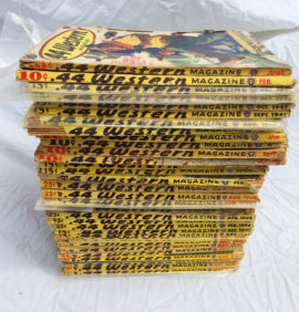Large Lot of .44 Western Pulp Magazines