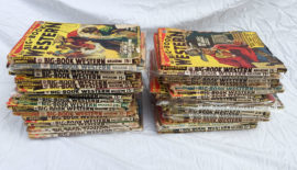 Large Lot of Big Book Western Pulp Magazines