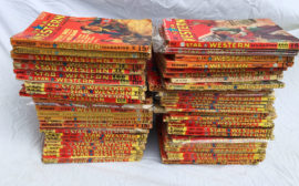 Large Lot of Star Western Pulp Magazines