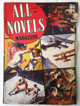All Novels Magazine #1 (August 1938)