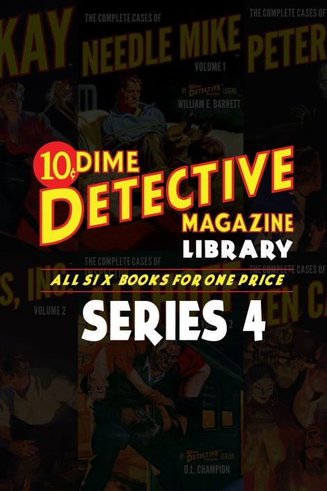 The Dime Detective Library: Series 4 (Six Book Set)