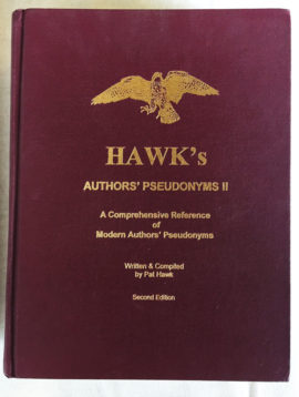 Hawk's Authors' Pseudonyms II