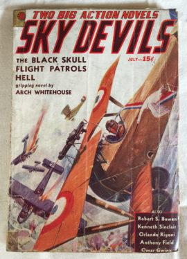 Sky Devils #2 (July 1938)