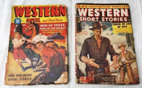 Timely/Atlas-Era Western Pulp Magazines