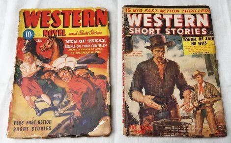 Timely/Atlas-Era Western Pulp Magazines
