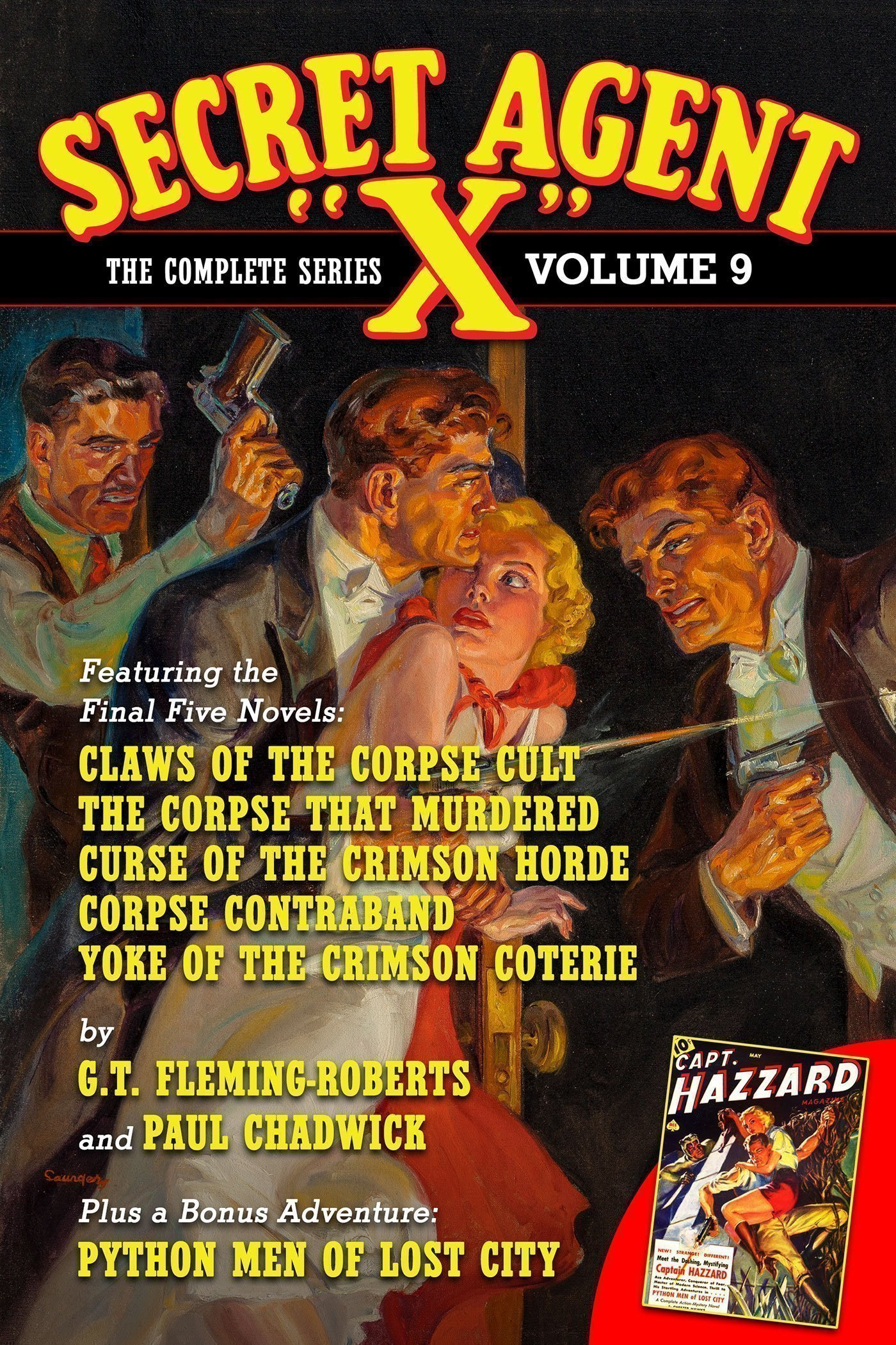 Secret Agent X: The Complete Series, Volume 9