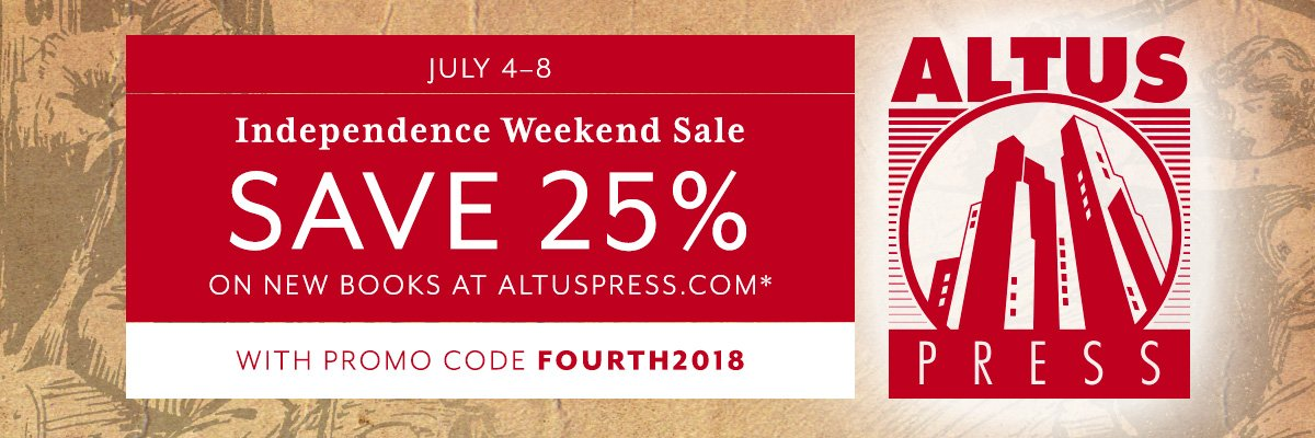 Altus Press Independence Weekend Sale