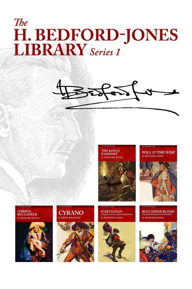 The H. Bedford-Jones Library: Series 1 (Six Book Set)