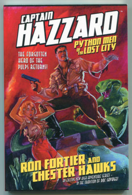 Captain Hazzard: Python Men of the Lost City (First Print, Wild Cat Books)
