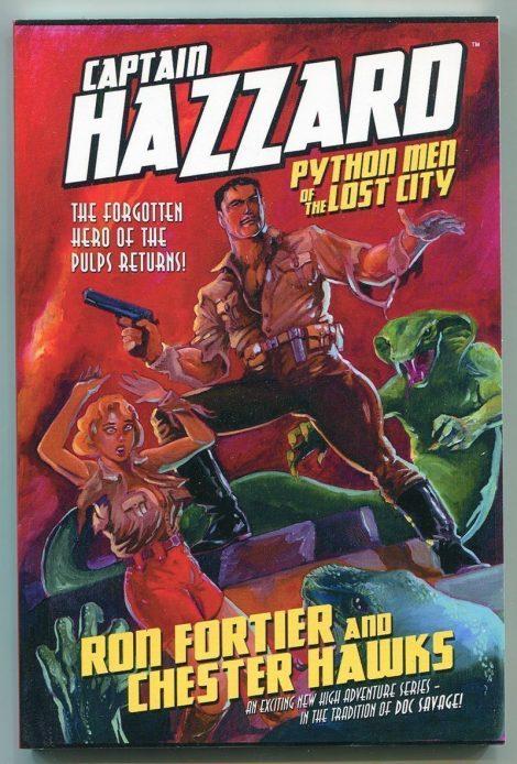 Captain Hazzard: Python Men of the Lost City (First Print, Wild Cat Books)